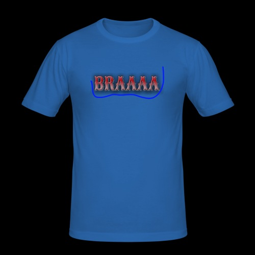 Braaaa - Männer Slim Fit T-Shirt