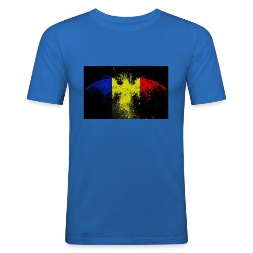 Rumänien - Männer Slim Fit T-Shirt