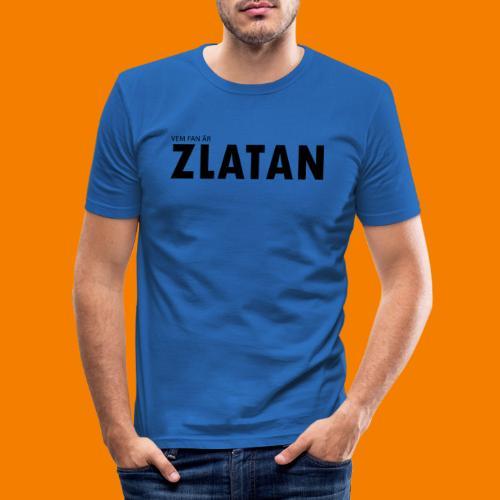 Vem fan är Zlatan - Slim Fit T-shirt herr