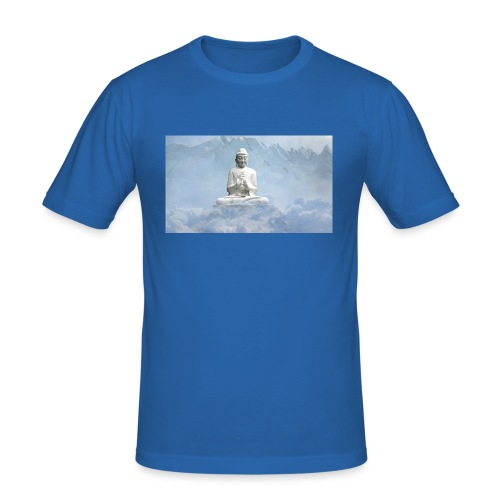 Buddha with the sky 3154857 - Men's Slim Fit T-Shirt