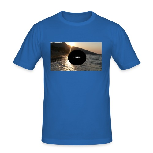Mousepad - Männer Slim Fit T-Shirt