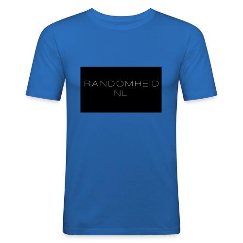 RandomheidNL knuffelbeer - Mannen slim fit T-shirt