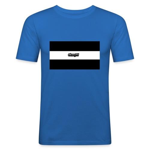 OkanyTV - Männer Slim Fit T-Shirt