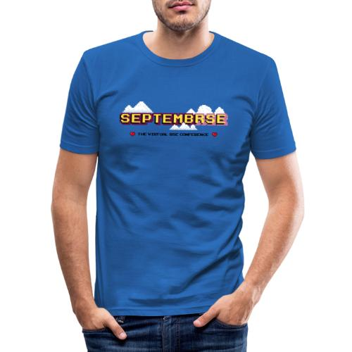 SeptembRSE - Main Conference Logo - Men's Slim Fit T-Shirt