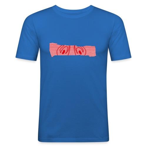 abderyckie linie - Obcisła koszulka męska