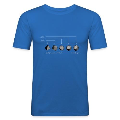 Platonicum solidum - Men's Slim Fit T-Shirt