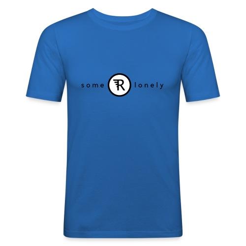 Some Are Lonely - Ekologisk T-shirt i killstorlek - Slim Fit T-shirt herr
