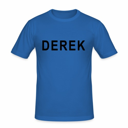 LARGE Derek - Men's Slim Fit T-Shirt