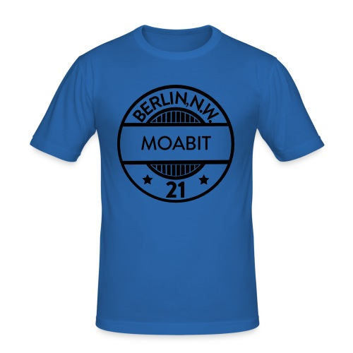 Moabit 21 - Männer Slim Fit T-Shirt
