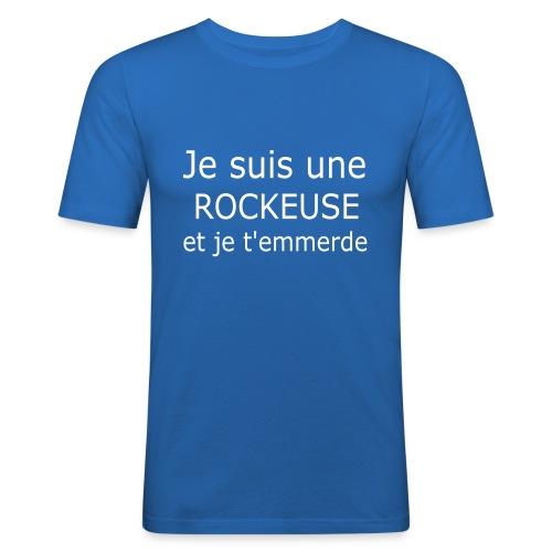 Rockeuse - T-shirt près du corps Homme