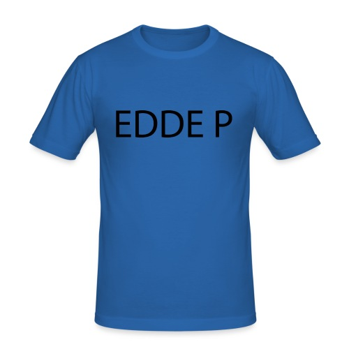 EDDE P - Slim Fit T-shirt herr