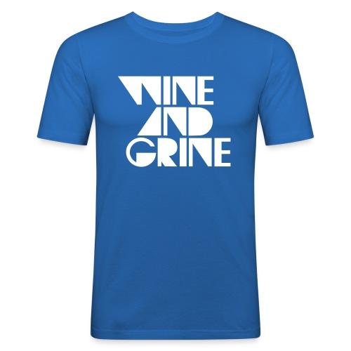 WINE GRINE - Men's Slim Fit T-Shirt