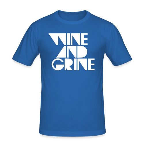 WINE GRINE - Men's Slim Fit T-Shirt