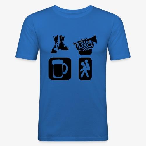 Way of Life - Männer Slim Fit T-Shirt