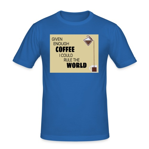Coffee Champion - Men's Slim Fit T-Shirt