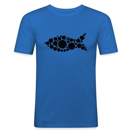 fish - Miesten tyköistuva t-paita