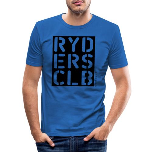 Ryders.Club Square - Männer Slim Fit T-Shirt