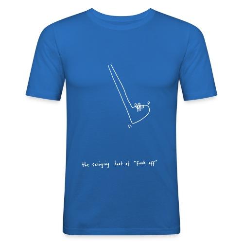The Swinging Boot - Men's Slim Fit T-Shirt