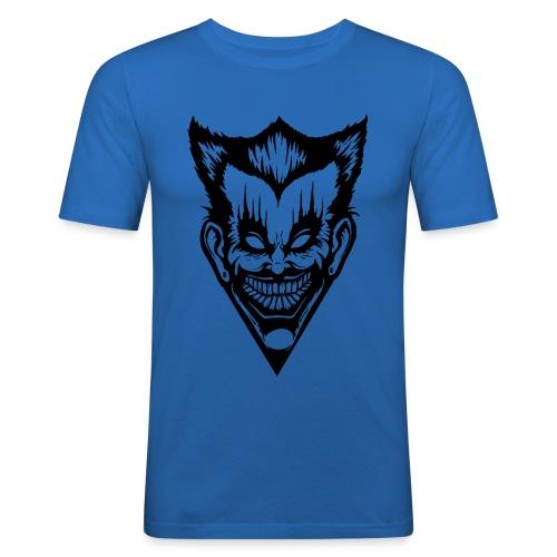 Horror Face - Männer Slim Fit T-Shirt
