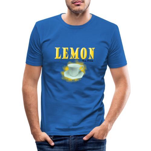 Lemon - Tea-Shirt - Men's Slim Fit T-Shirt