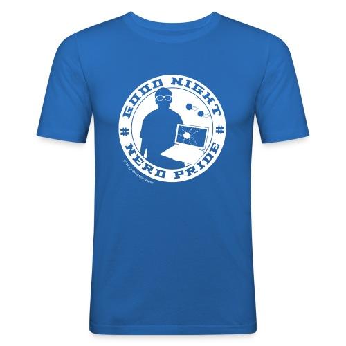 good night transparent cc white png - Männer Slim Fit T-Shirt