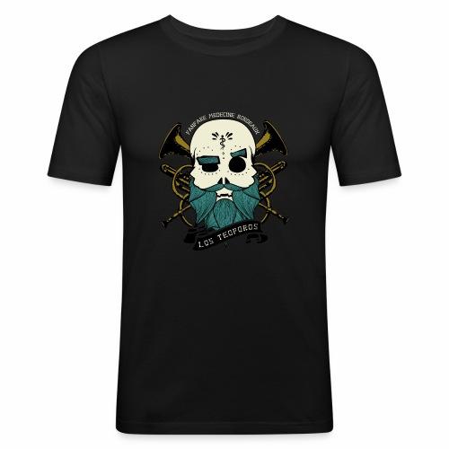 Los Teoporos Logo Pirate - T-shirt près du corps Homme