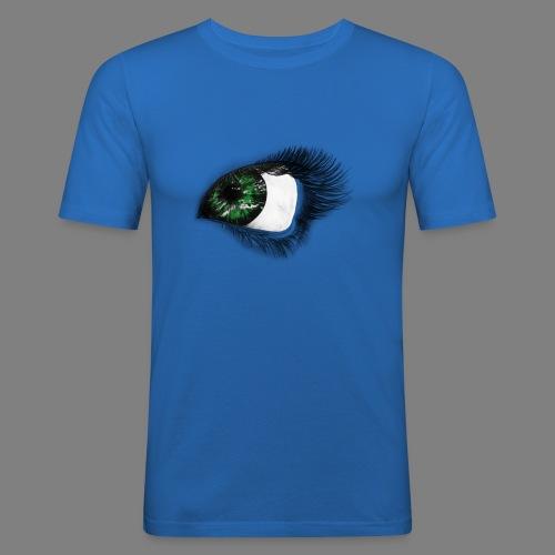 Auge 1 - Männer Slim Fit T-Shirt
