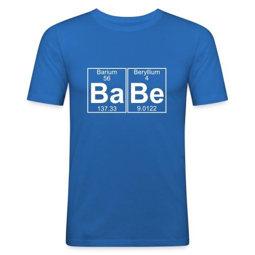 Ba-Be (babe) - Full - Men's Slim Fit T-Shirt