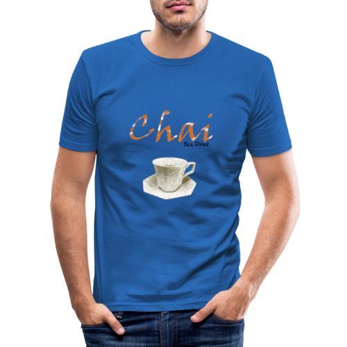 Chai Tea Shirt - Men's Slim Fit T-Shirt