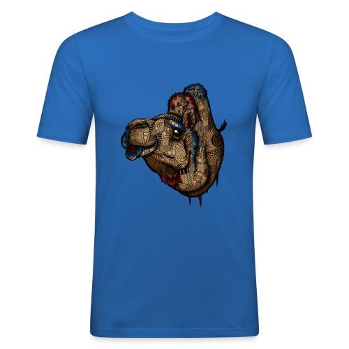 Kamel - Slim Fit T-skjorte for menn