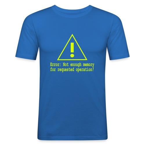 Error Nerd - Männer Slim Fit T-Shirt