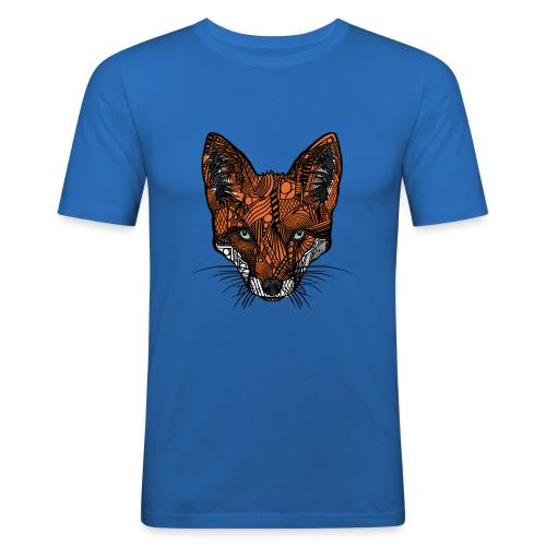 Fox - Slim Fit T-skjorte for menn