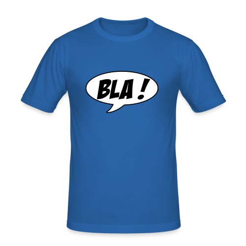 Bla - Men's Slim Fit T-Shirt