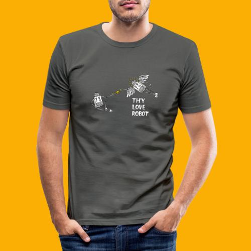 Gods gift - Mannen slim fit T-shirt