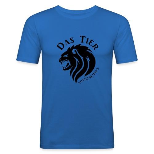 Das Tier - Männer Slim Fit T-Shirt