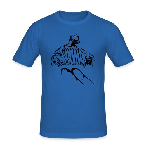 Herbert Pixner Harmonika - Männer Slim Fit T-Shirt