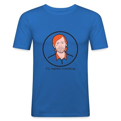 aux geeks - T-shirt près du corps Homme