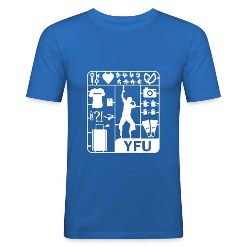 bausatz 409 - Männer Slim Fit T-Shirt