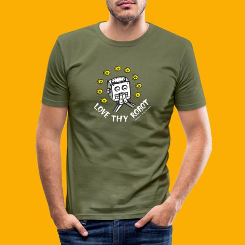 Dat Robot: Love Thy Robot Series Dark - slim fit T-shirt