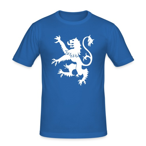 Scotland Rampamnt Lion - Men's Slim Fit T-Shirt