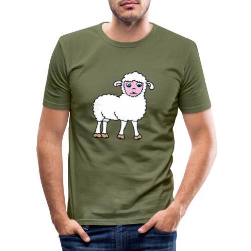 Minos le petit agneau - T-shirt près du corps Homme