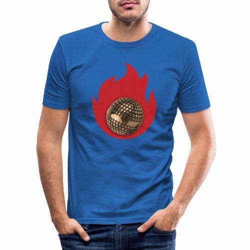 petanque fire - T-shirt près du corps Homme