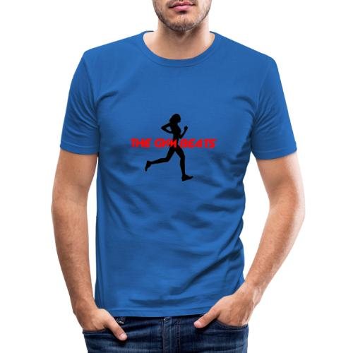THE GYM BEATS - Music for Sports - Männer Slim Fit T-Shirt