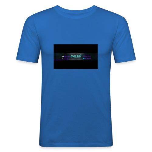 LOGO_Banner_Childs - Men's Slim Fit T-Shirt