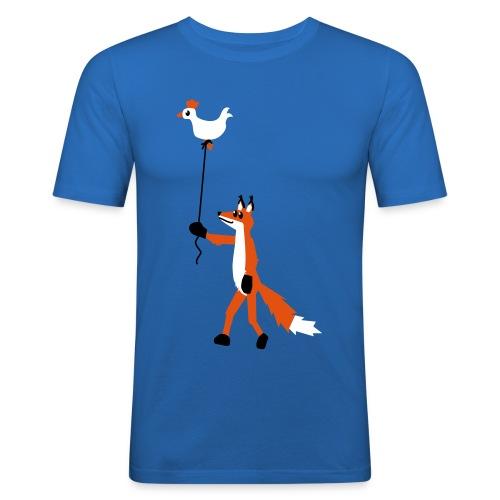 Fuchs und Henne - Männer Slim Fit T-Shirt
