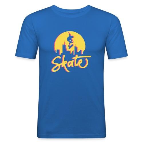 Skate - Slim Fit T-shirt herr