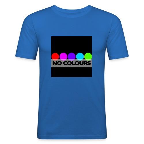 no_colours_20 - Camiseta ajustada hombre