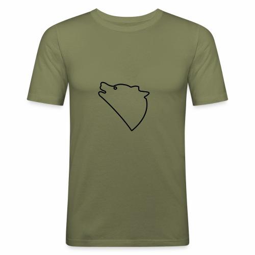 Wolf baul logo - slim fit T-shirt