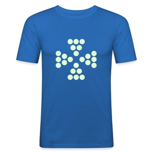 cercles12 - T-shirt près du corps Homme