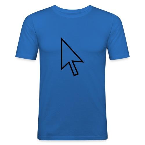 mouse - Mannen slim fit T-shirt